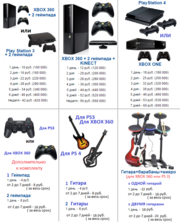 Прокат аренда Xbox 360,  Guitar Hero в Минске